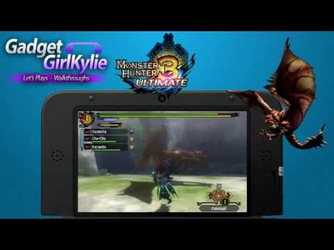 Modded 3DS XL Capture Card Test Video 1 - Monster Hunter 3 Ultimate
