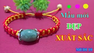 MUDI - Hướng dẫn tết vòng tay MAY MẮN - MUDI 10