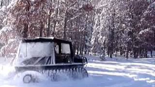 Adair Argo Sales deep snow tests (2) 1-7-10.MPG