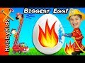 World's Biggest FIREBALL Surprise Egg! Firetruck Alarm + Best...