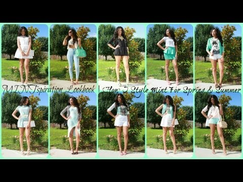 MINTspiration Fashion Lookbook | How I Style Mint For Spring/Summer