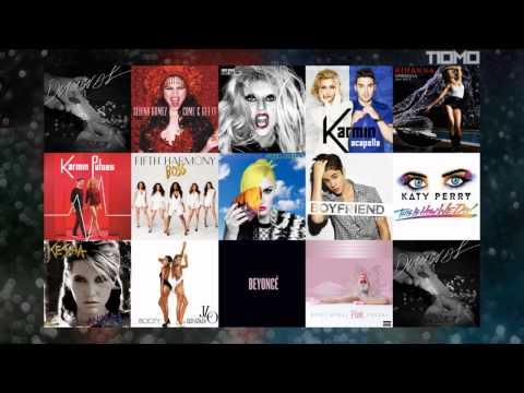 Katy Perry vs Lady Gaga vs Beyoncé vs Rihanna vs Nicki Minaj vs Iggy Azalea  (Megamix)