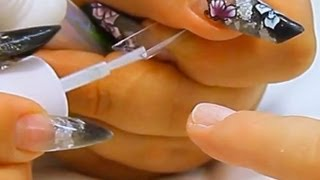 Correctly Sizing and Applying a Nail Tip Tutorial Video by Naio Nails