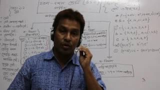 এস এস সি সাধারন গণিত  Chapter 2.1 Algebra  Par t 1