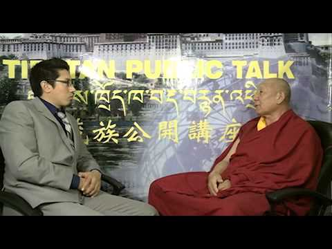 Tibetan Public Talk - Nov. 8, 2012, Interview with Geshe Jampa Losel, part 2