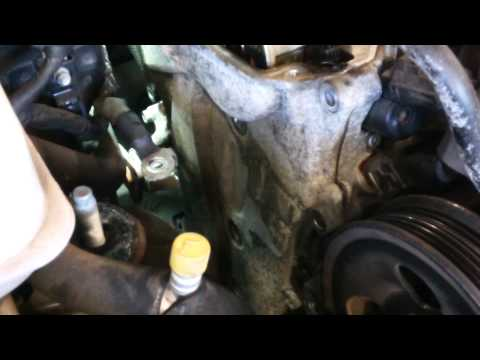 Hyundai Crankshaft Position Sensor Replace Timing Belt