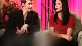 """Sandra Bullock & Denis Leary, promo-interview about their movie """"Two If By Sea"""" (1996)"""