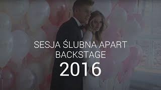 Kulisy sesji ślubnej 2015 - Karolina Pisarek i Jakob Kosel