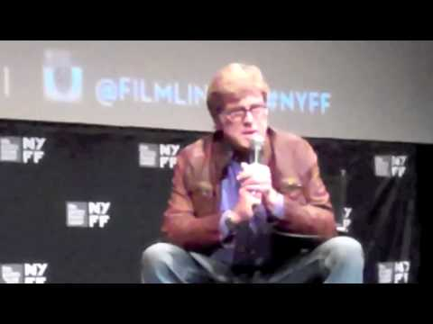 ROBERT REDFORD ON ALL IS LOST AND JC CHANDOR