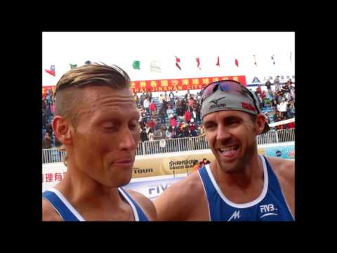 Shanghai Grand Slam -- Men - Jacob Gibb and Casey Patterson (USA)