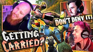 I'M NOT GETTING CARRIED!! FT. NINJA & 72HRS (Classic WoW)