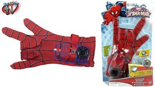 ULTIMATE SPIDERMAN TOYS Hero FX Glove Costume Dress Up Toy Review Super Hero Video