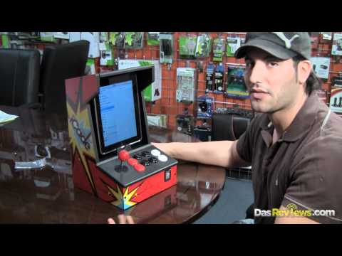 iPad iCade Review - iPad Arcade Cabinet iMame4all Gameplay