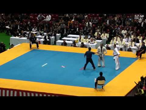 Alejandro Navarro vs Syohei Kamada @ 10th World Open Kyokushin Karate Tournament Image 1