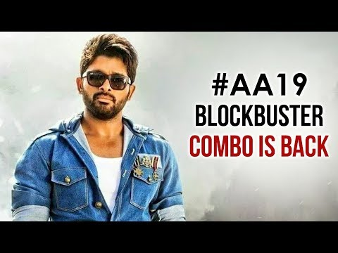 Allu Arjun New Movie SURPRISE Revealed | Trivikram | AA19 | Allu Arjun 2019 Latest Telugu Movie