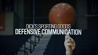 Basketball Defense: Communication