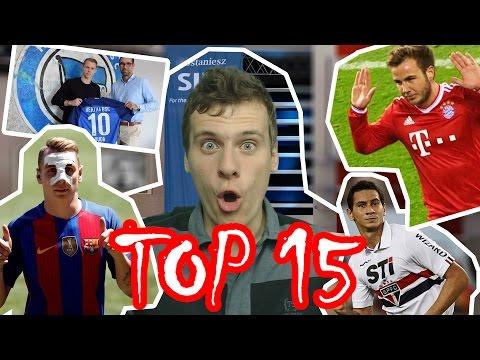 TOP 15 Transferów Przed Sezonem 16/17 (6-21 Lipca 2016)