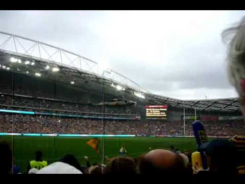 Part 1 of 1 of the 2 part series of the NRL Grand Final 2009 with the Melbourne Storm vs Parramatta Eels. Part 1 has all the pre-entertainment made done by W...
