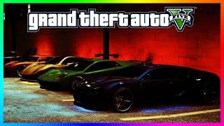 GTA 5 Online - Fast & Furious Theme Car Show! Epic Car Showcase From Fast & Furious 7! (GTA 5)
