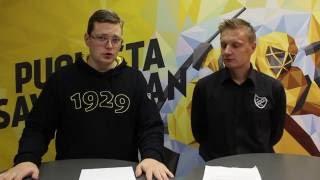 KalPa-TV 25.8.2016 - vieraana toimitusjohtaja Toni Saksman