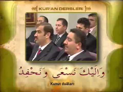Fatih Çollak Hoca Efendi  Ile Kuran Dersleri- 3 Bölüm