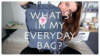 What's in my bag?   Minimalism & zero/low waste