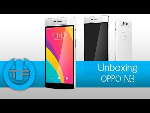 Oppo N3 Unboxing y primeras impresiones en Espan?ol