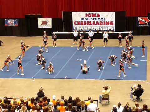 Valley High School Iowa Cheerleading State Champs 2009