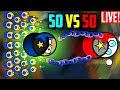 Surviv Io GETTING LEADER DURING A LIVESTREAM New 50 Vs 50 Update Gameplay Highlights mp3
