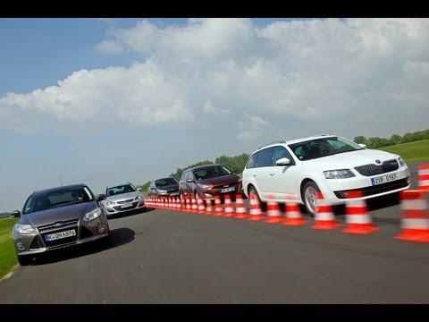 Skoda Octavia Combi, Ford Focus Turnier, Hyundai i30 Kombi, Kia Ceed SW, Opel Astra ST