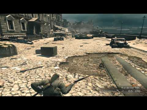Sniper Elite V2 - My Gameplay ( Stalingrad Russia )