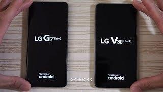 LG G7 ThinQ vs LG V30 - Speed Test!