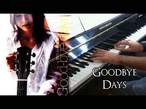 Goodbye Days - Vocal + Piano Cover ~ (yui ユイ) Performed By Hollowriku video