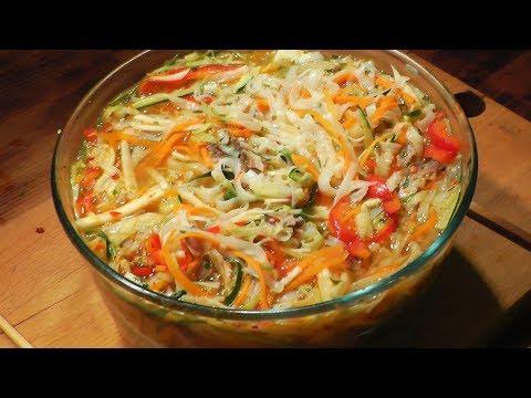 Куриный суп с лапшой и овощами. (Вкусный, но странный)