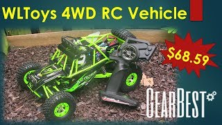 MUST HAVE - WLToys RC 4WD Off Road Vehicle from GearBest