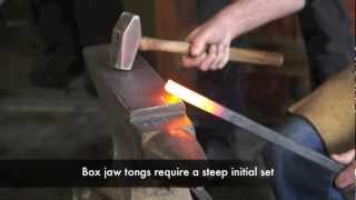 Blacksmithing - Box jaw tongs for the blacksmith