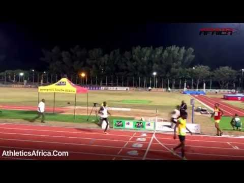 Men's 4x400m Final - 20th African Senior Championships, Durban 2016