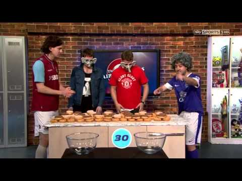 Kasabian Tom and Serge on Soccer AM the Hairy Strikers 20130518
