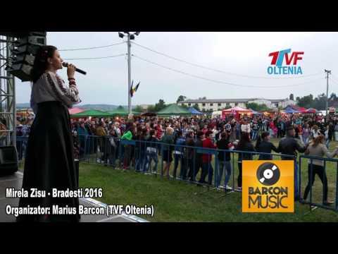 Mirela Zisu si Orchestra Nicusor Troncea - Colaj LIVE Zilele comunei BRADESTI 2016