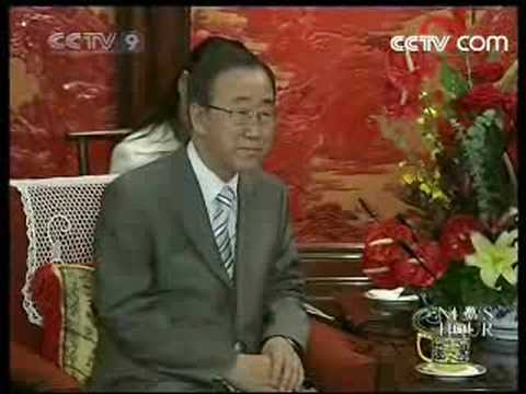 UN Secretary-General visits China