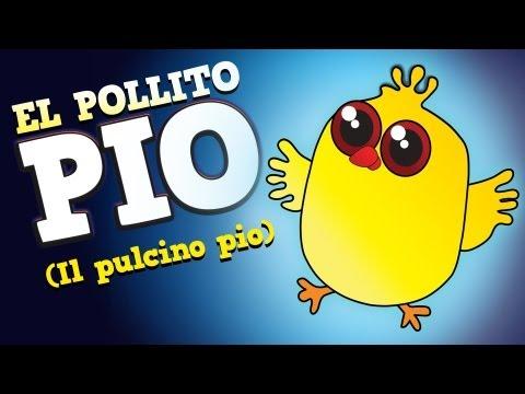 El Pollito Pío En español