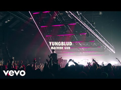 YUNGBLUD - Machine Gun (Live) | Vevo LIFT Live Sessions