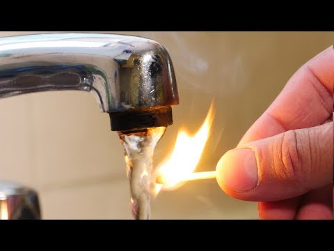 Light A Match with Water!