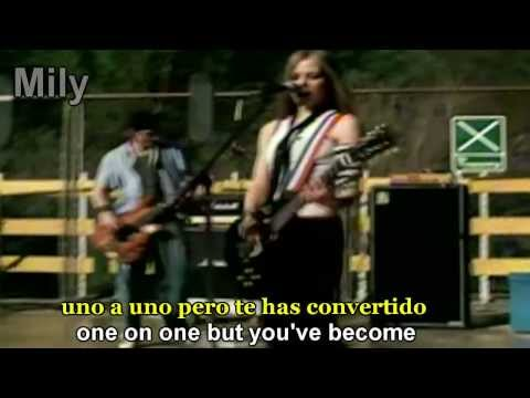 Avril Lavigne - Complicated Subtitulado Español Ingles