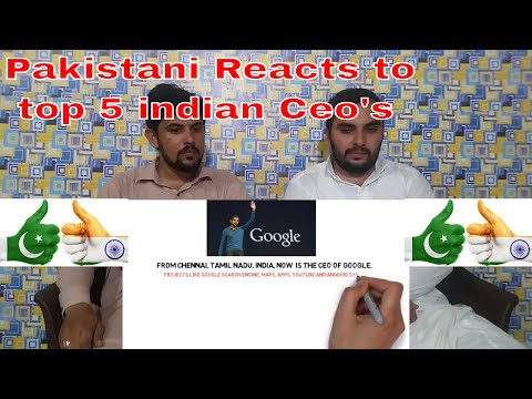 Pakistani Reacts On | Top Indian Born Ceo's Ruling The Tech Industry | 2018 Reaction Complex