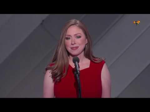 """Chelsea Clinton: """"Min mamma har aldrig glömt vilka hon kämpar för"""""""
