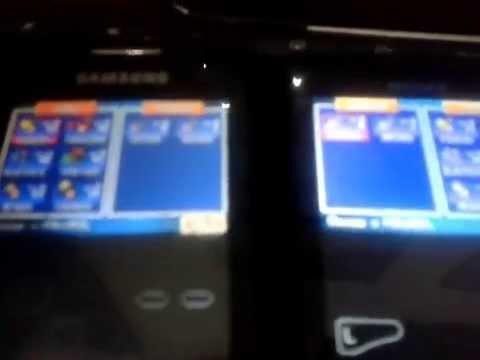 como intercambiar pokemon entre 2 celulares con android con GBA EMU