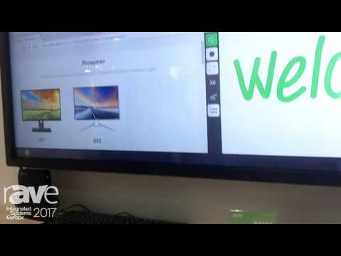 ISE 2017: Acer Features DT653 Touch Monitor