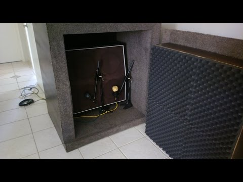 Building an Isolation Guitar Cabinet ISOCAB DIY How to using Green Glue