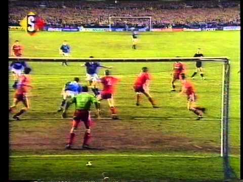 Everton 1 Liverpool 0 - 27 February 1991 - FA Cup 5th Round 2nd Replay